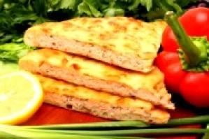Осетинский пирог с рыбой